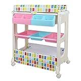 einzigartiges Design Praktischer Wickeltisch für Babys, Massagepflegetisch, Badestation, In drei Farben erhältlich