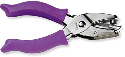 Fiskars 23517097J Circle Hand Punch, 1/8 Inch, Purple