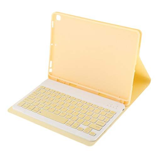 balikha Detachable Bluetooth Keyboard Cover for IPad 8 & Deg; 2020 7 - Yellow