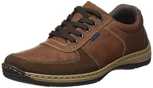 Rieker Herren 15224 Sneaker, Braun (Cigar/Mandel/Pazifik), 41 EU