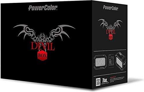 PowerColor Devil Box Thunderbolt 3 eGFX Gaming mit Gigabyte Radeon RX 580 8GB Grafikarte
