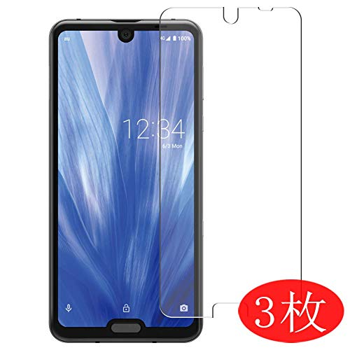 【3 Pack】 Synvy Screen Protector for Sharp AQUOS R3 SHV44 AQUOS SH-04L TPU Flexible HD Clear Case-Friendly Film Protective Protectors [Not Tempered Glass]