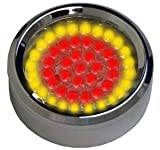 Radiantz Dogeye Puckz (Running Light, Red High Intensity Brake Light, and Amber High Intensity Turn Signals all in one unit) (Clear Lense)