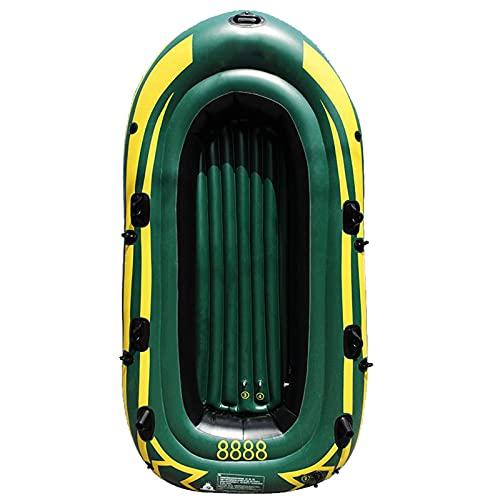 Gaoweipeng 3-4 Personas Kayak Hinchable,Plegable Conveniente Bote Inflable PVC Ambiental Espesar Cámara De Aire Independiente Seguridad Estabilidad Comodidad Piragua,3 People