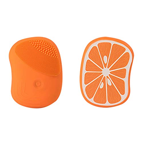 Duomu soft silicone cleaning pad,facial scrub,cleaning brush, waterproof,rechargeable and sonic electric cleaning,suitable for all kinds of skin.