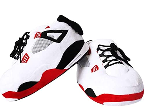 Jordan Alike Sneaker Slippers Comfy Funny Shoes for Men Women (COLOR4)