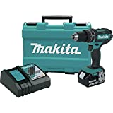 Makita XPH102-R 18V LXT Lithium-Ion Cordless 1/2 in. Hammer Driver-Drill Kit (Renewed)