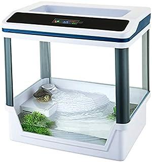takestop® Acuario Tortugas terrario t360 °F con Sistema de filtrado E iluminación LED SMD