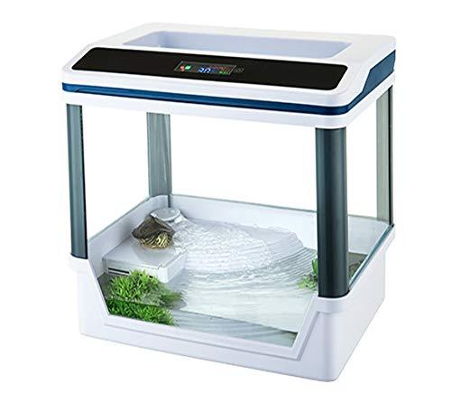 takestop® Aquarium Terrarium T360F met filtersysteem en SMD LED-verlichting 33,5 x 22 x 33 cm 5 W 300 L/H LCD Digital