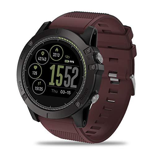 Fitness Tracker, Hartslagmeter, Smart Fitness Band met Step Counter & Calorie Counter, Waterdichte Stappenteller Horloge voor Vrouwen Mannen Kinderen