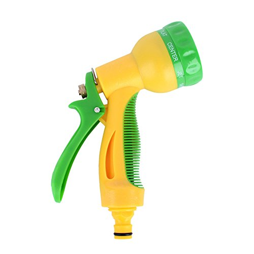 ChenYongPing Lightweight Garden Hose Nozzle, Water Gun Garden Supplies Home High Pressure Cleaner Spray Gun Suitable For Garden Watering Washing Glass Watering Lawn and Garden Pets Shower