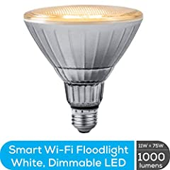 WI-FI LIGHT BULBS Easily control your lights from across the room or across the country with just your voice or the Geeni app (iOS Android) Geeni smart bulbs have Wi-Fi built right in for simple set up so you'll never get caught in the dark again NO ...