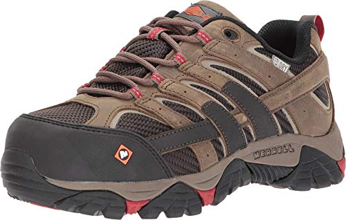 Merrell Moab 2 Vent Waterproof Comp Toe Work Shoe