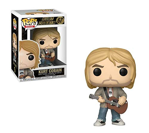 Pop! Rock - Figura de Vinilo Kurt Cobain MTV Unplugged Exclusive