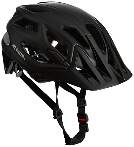 ALPINA Garbanzo Fahrradhelm, Unisex– Erwachsene, black, 57-61