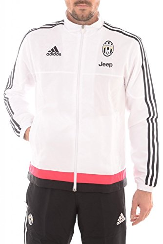 2015-2016 Juventus Adidas Presentation Tracksuit (White) - Kids