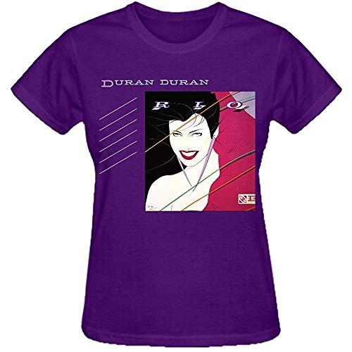 Women's Duran Duran Rio Purple T-shirt, S to 3XL