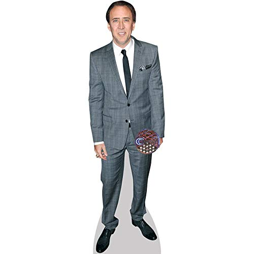 Nicolas Cage (Grey Suit) Mini Cutout