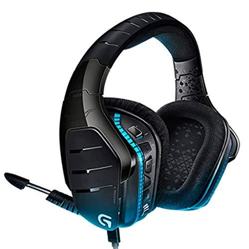 HUANGDA HG633 Gaming Headset Artemis Spectrum 2,4 GHz sans Fil 7.1 Surround Professional Professional pour PC, Xbox One et PS4 - Noir