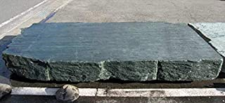三波石 巨石 踏み石 沓脱石 延段 踏石 石板 巨大 青石 飛び石 幅約3m50cm 特大 庭石 敷石 和風 石庭 景石 a-kur2012-211 日本 庭園 石碑 記念碑などにも