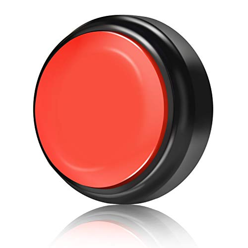 Record Talking Button (Black+Red)