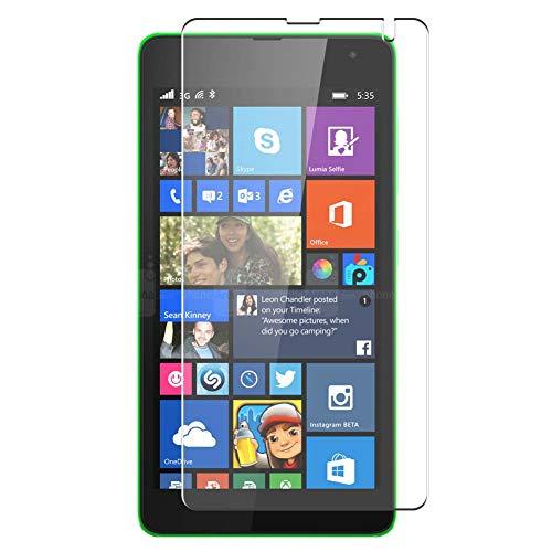 Vaxson 4-Pack TPU Pellicola Protettiva, compatibile con Microsoft Lumia 535, Screen Protector Film [Non Vetro Temperato Cover Custodia ]