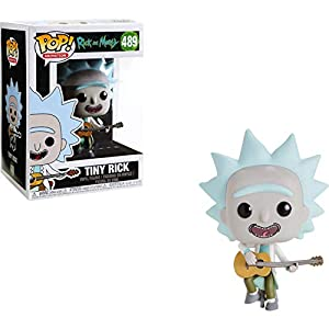 Funko Pop Tiny Rick con Guitarra (Rick & Morty 489) Funko Pop Rick & Morty