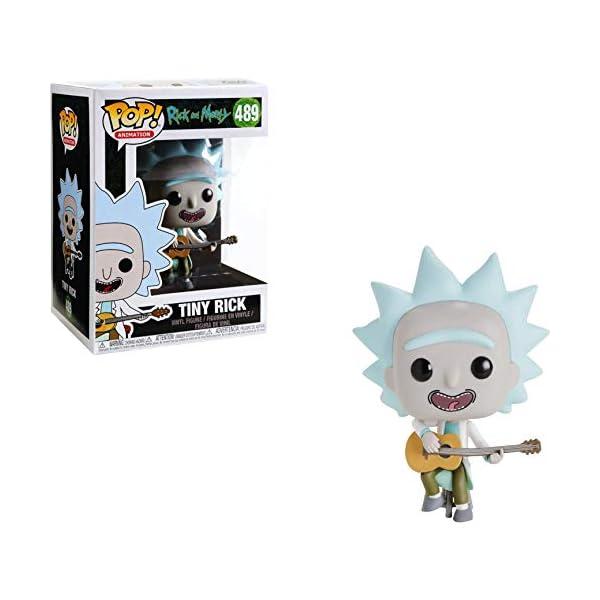 Funko Pop Tiny Rick con Guitarra (Rick & Morty 489) Funko Pop Rick & Morty
