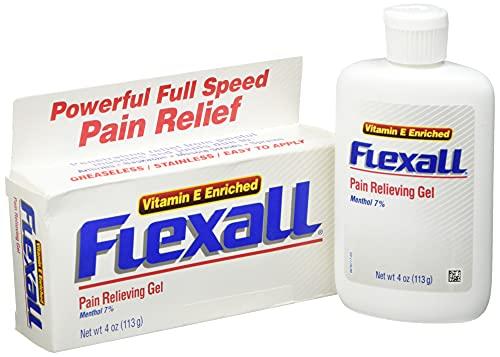 Flexall 454 - Topisches Gel bei Muskel- und Gelenkschmerzen, 120 g