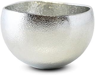 能作 Kuzushi - Yure - 小 ぐいのみ 日本製 H4.5cm φ6.6cm 約70cc ケース入 錫100% 501610/酒器 お猪口 ぐい呑み