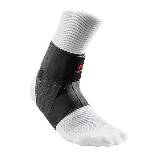 McDavid MD4303-01-05 Phantom Ankle Brace w/Stays & Wraps Black Adult-XS/S