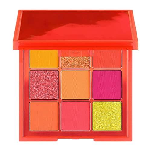 joyMerit 9colors Sombra de Ojos Paleta Mate Shimmer Metallic Soft Oche Maquillaje para Niñas