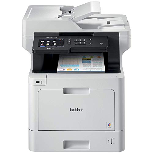 Brother MFC-L8900CDW Business Color Laser All-in-One Printer, Advanced Duplex & Wireless Networking,...