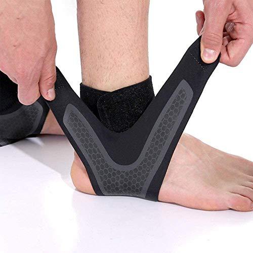 LATTCURE Knöchelbandage Einstellbares Sprunggelenkbandage, Fußbandage für Herren und Damen Sprunggelenk Fußgelenk Fersenschiene Knöchelmanschette Fußgelenkstütze für Zerrungen, Sport fußgelenkbandage