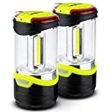 LEGAZPI 2 Pack LED Camping Lantern - Portable Camping Accessories Light Used