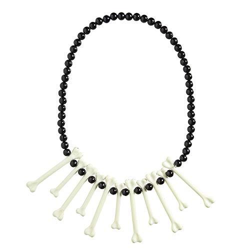 Widmann 00317 Halskette Knochen, Unisex– Erwachsene, Bianco, Taglia Unica