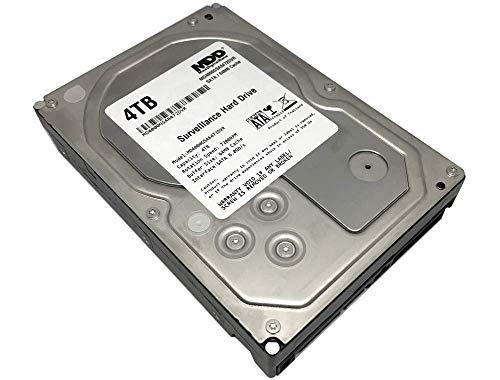 "MaxDigitalData 4TB 64MB Cache 7200PM SATA 6.0Gb/s 3.5"" Internal Surveillance CCTV DVR Hard Drive (MD4000GSA6472DVR) - w/ 2 Year Warranty (Renewed)"