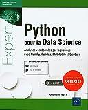 Python pour la Data Science - Analysez vos données par la pratique avec NumPy, Pandas, Matplotlib et Seaborn