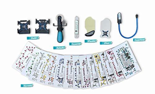dottorpod Premium Repair Tool Kit Attrezzi di Riparazione Smartphone, Tablet, Strumenti di Apertura Professionale Compatibile con iPhone e iPad. AGGIORNATO con i Modelli iScrews XS,XSMAX,XR