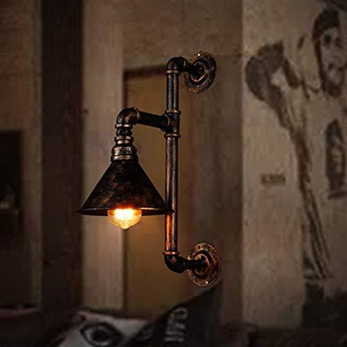 VIWIV una araña Loft Industrial Lámpara de Pared Mural Lámpara TV Fondo Lámpara de Pared Apliques de Pared Vintage Hotel Cafe Bar Soporte Lámpara Edison Bombilla E27 (Excluyendo Bombillas)