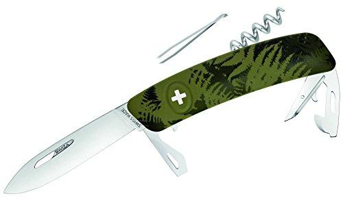 SWIZA Schweizer Messer C03 Silva, Grün, One Size