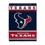The Northwest Company Officially LicensedNFL Houston Texans '12th Man' Plush Raschel Throw Blanket, 60' x 80', Multi Color
