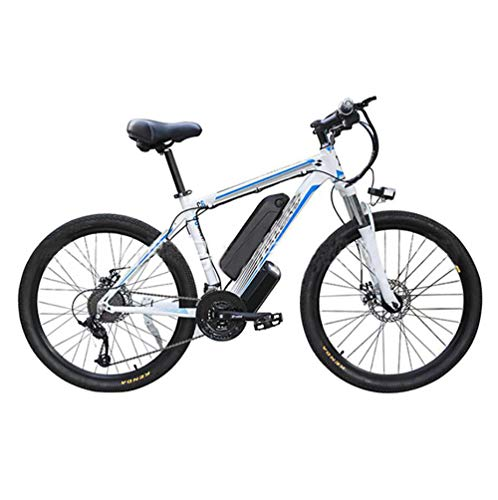 "41XMOdNL+WL - Elektro-Off-Road-Mountainbike, 350W Motor 26"" Adult Electric Mountain Bike 48Av10ah 350W Motor Höchstgeschwindigkeit 35km / H"