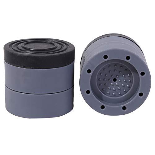 Airlove 4 PCS Anti-Vibrations-Pads für Waschmaschinen- und Trockner Schock- und Geräuschunterdrückende Waschmaschinenunterstützung Anti-Walking-Pads für Haushaltsgeräte