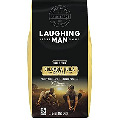 Laughing Man Colombia Huila Ground Coffee