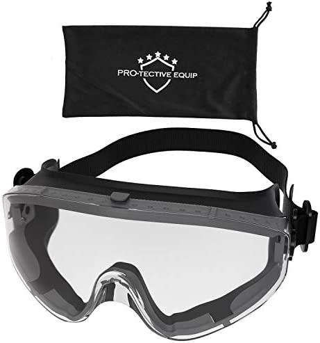 Protective Equip Safety Goggles Over Glasses Lab Safety Goggles For Eye Protection Scratch Resistant product image
