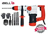 iBELL IBL RH28-101 Heavy Rotary Hammer Core Drill Machine,1000W,750RPM,26MM-6 Months Warranty