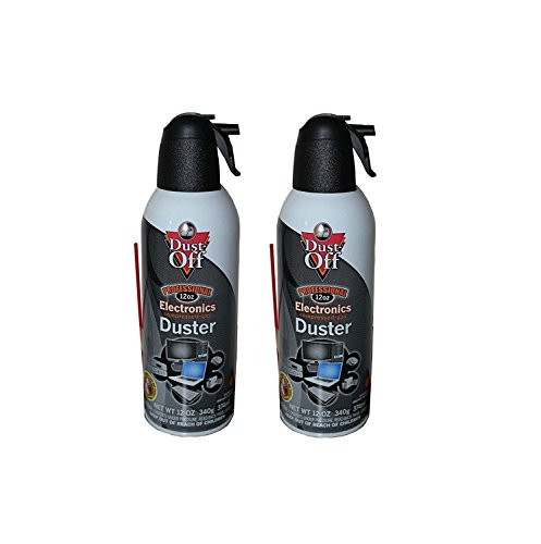 Falcon Dustoff Professional Electronics Compressed Gas 12oz  2 Pack