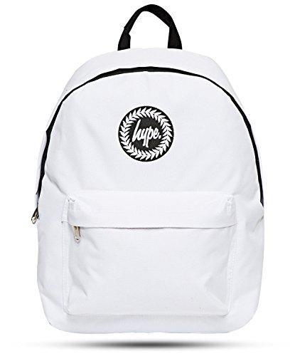 Mochila de Hype, para mujer y hombre, blanco (blanco) - Hype bag (Plain)
