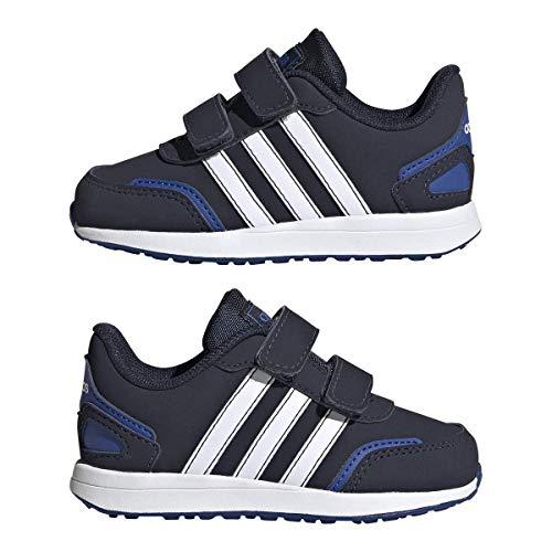 adidas Unisex Baby VS Switch 3 Sneaker, Cblack Ftwwht Royblu, 25.5 EU